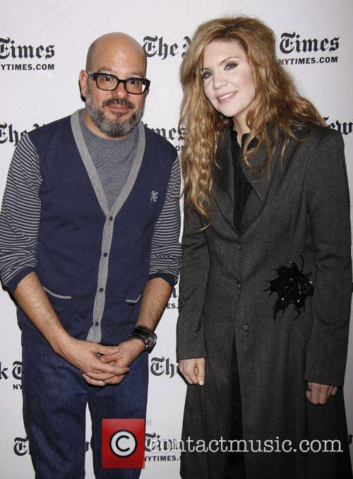 David Cross and Alison Krauss 8