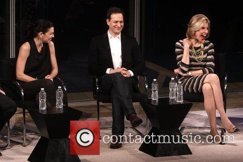 Julianna Margulies, Christine Baranski and Josh Charles 9