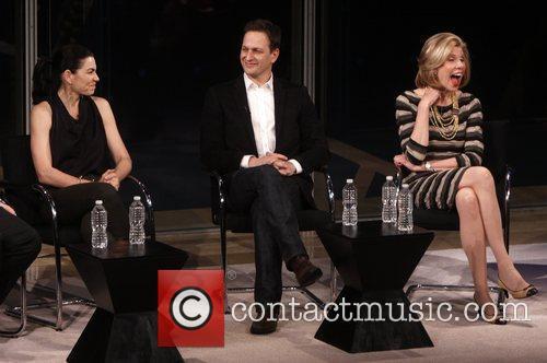 Julianna Margulies, Christine Baranski and Josh Charles 8