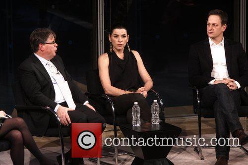 Robert King, Josh Charles and Julianna Margulies 3