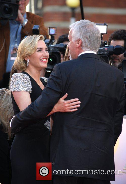 Kate Winslet, James Cameron and Royal Albert Hall 2
