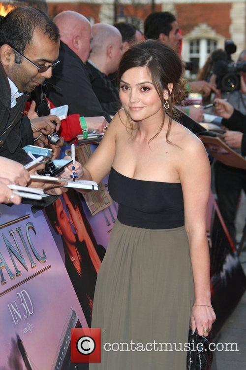 Jenna-Louise Colman Titanic 3D premiere held at the...