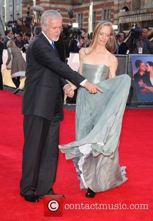 James Cameron, Suzy Amis and Royal Albert Hall 3