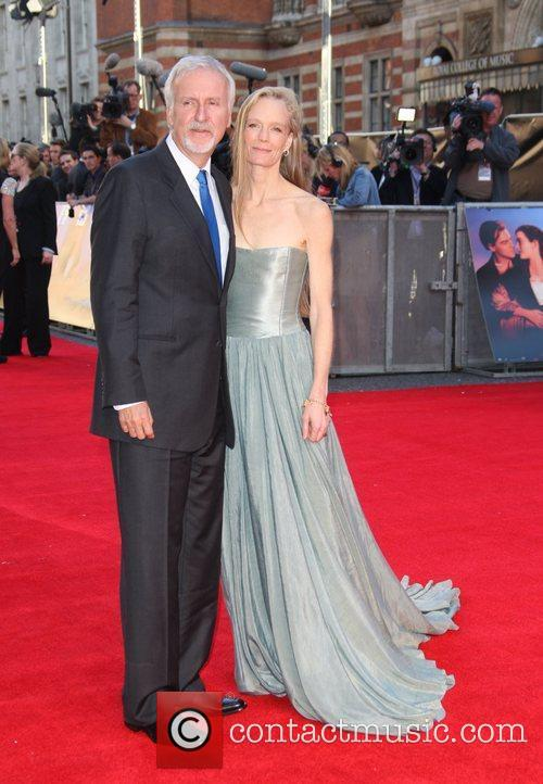 James Cameron, Suzy Amis and Royal Albert Hall 5
