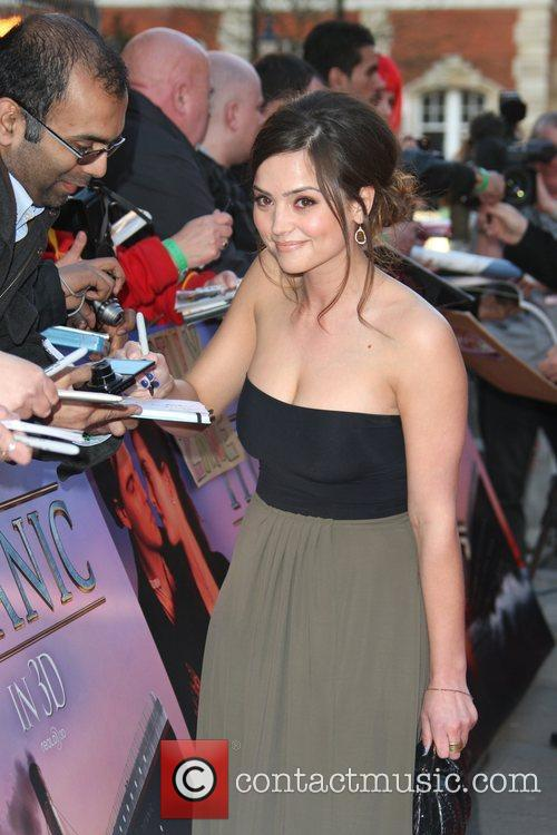 Jenna-louise Coleman and Royal Albert Hall 6