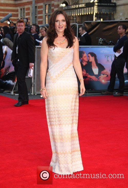 Rochelle Rose Titanic 3D World Premiere held at...