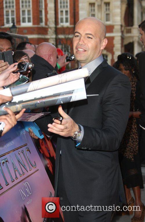 Billie Zane Titanic 3D World Premiere held at...
