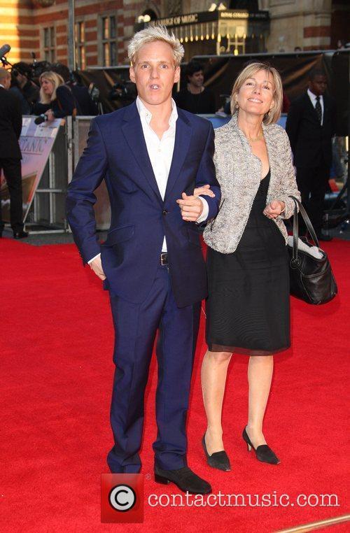 Jamie Lainge with his mother Titanic 3D World...