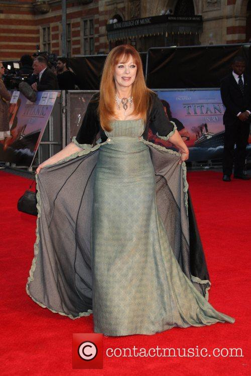Frances Fisher Titanic 3D World Premiere held at...