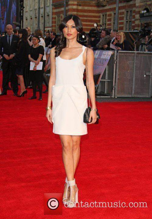 Gemma Chan and Royal Albert Hall 2