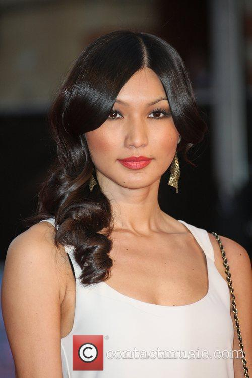 Gemma Chan and Royal Albert Hall 1