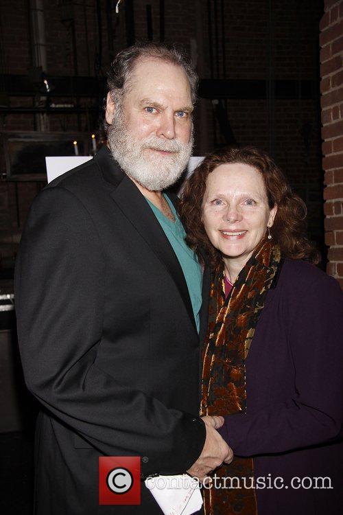 Jay O. Sanders and Maryann Plunkett Opening night...