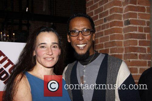 Stephanie Roth Haberle and Ron Cephas Jones Opening...
