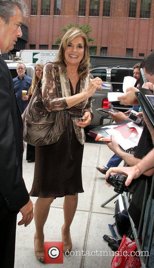 Linda Gray TNT/ TBS Upfront 2012 lunch reception...
