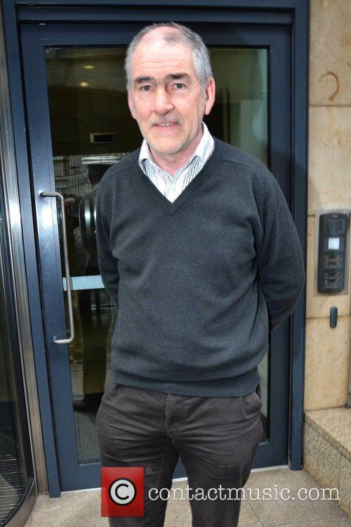 The father of murdered Michaela McAreavey, Mickey Harte...