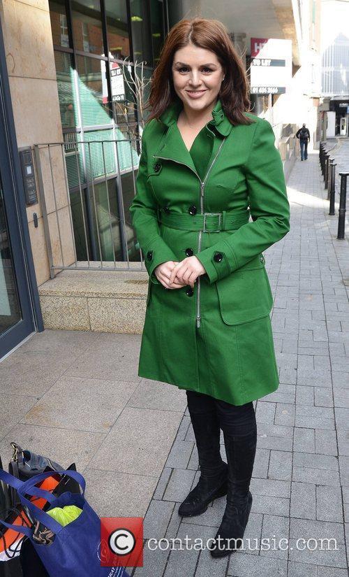 TV presenter Sile Seoige at Today FM studios...