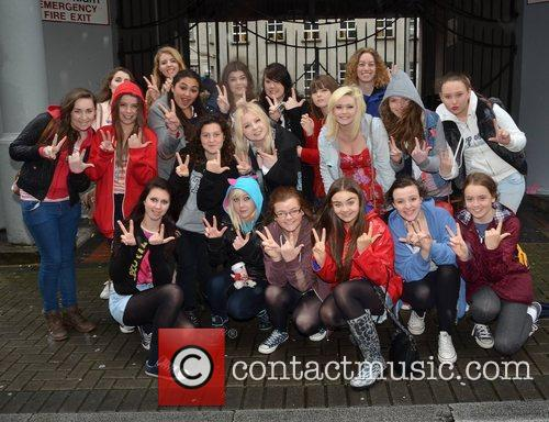 Outside the Today FM radio station