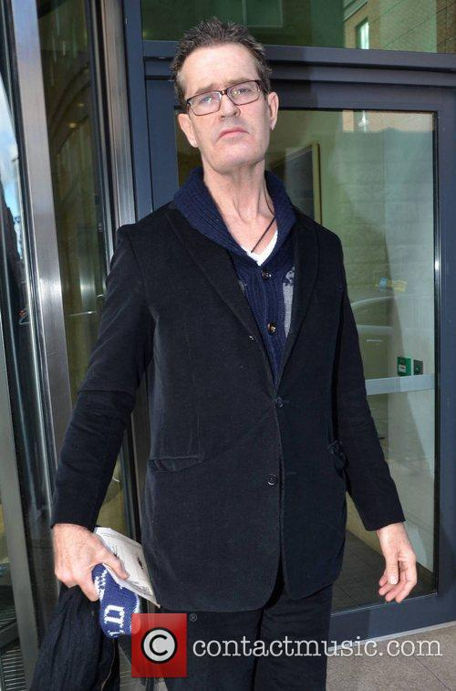 Rupert Everett outside the Today FM studios Dublin,...
