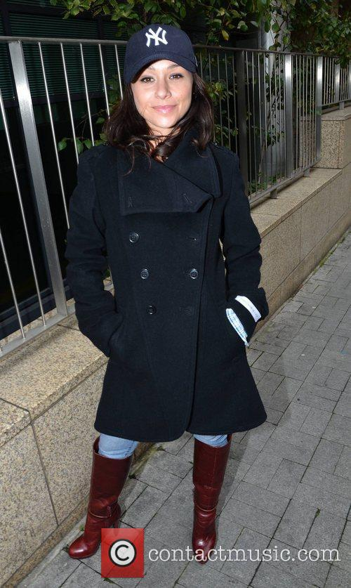 danielle harris outside the today fm studios 4146881