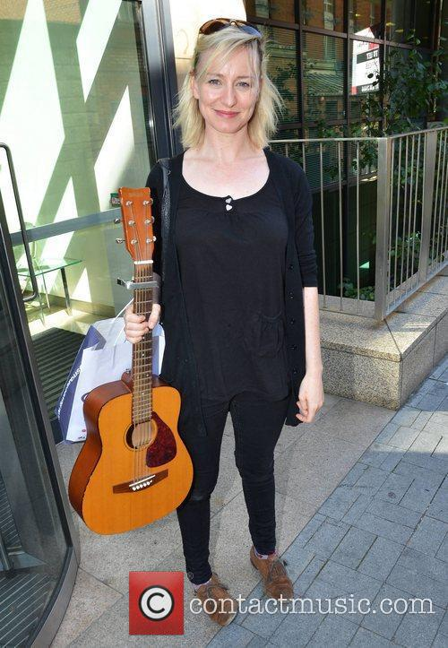 Cathy Davey Guests outside Today FM Dublin, Ireland...