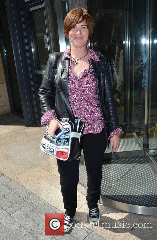 Eleanor Mcevoy Guests outside Today FM Dublin, Ireland...