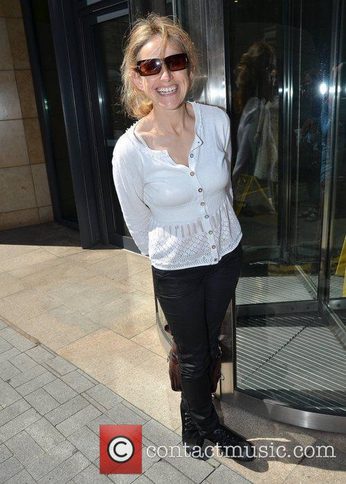 Sharon Shannon Guests outside Today FM Dublin, Ireland...