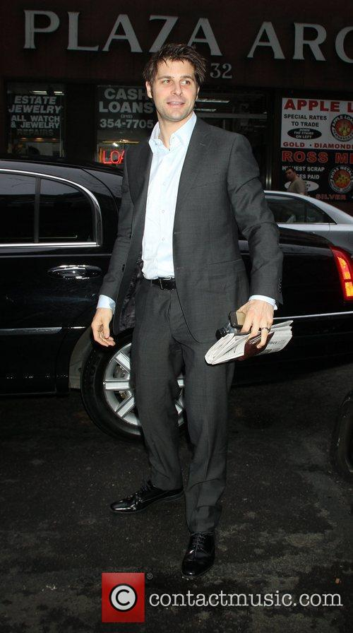 Ben Grogan Celebrities at NBC Studios for 'The...