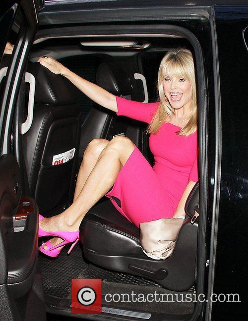 Christie Brinkley Celebrities at NBC Studios for 'The...