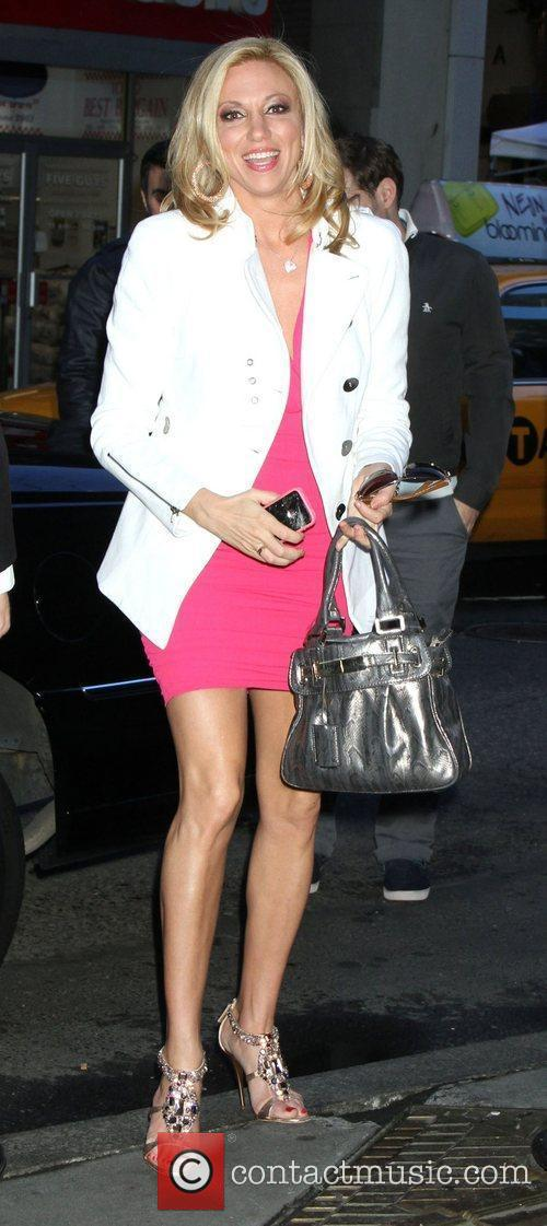 Debbie Gibson Celebrities at NBC Studios for 'The...