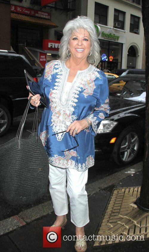 Paula Deen, Today Show Arrivals