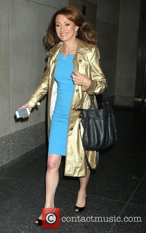 Celebrities at NBC Studios for 'The Today Show'