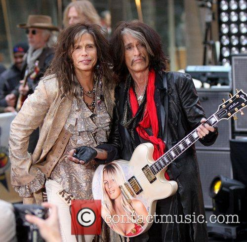 Steven Tyler, Joe Perry and Aerosmith 5