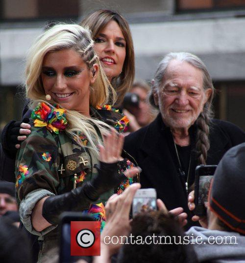 Ke$ha performing live on NBC's Toyota Thanksgiving Concert...