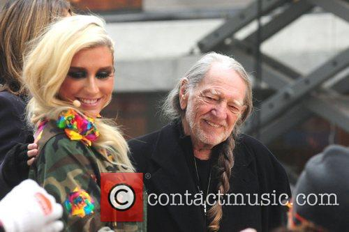 Willie Nelson, Ke, Toyota Thanksgiving Concert Series, Today, Rockefeller Center New York and City 4
