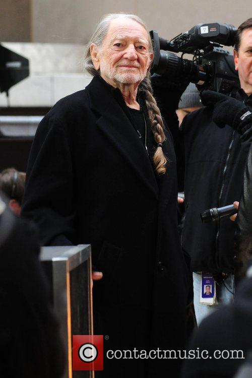 Willie Nelson, Toyota Thanksgiving Concert Series, Today, Rockefeller Center New York and City 2