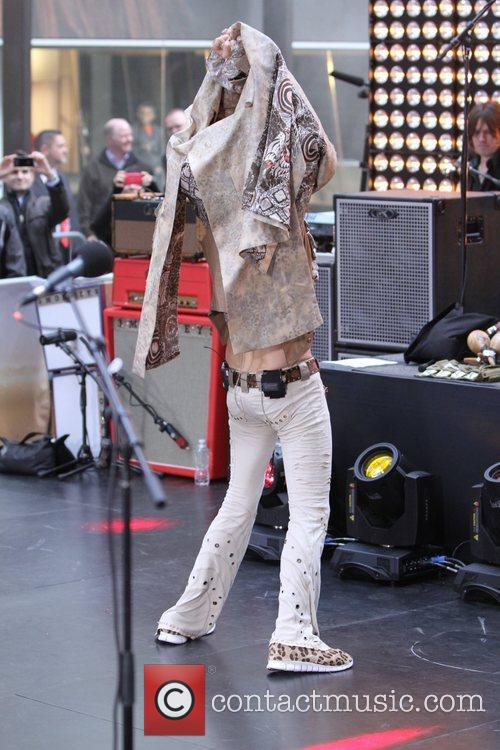 Steven Tyler Aerosmith performing live during the 'Today...