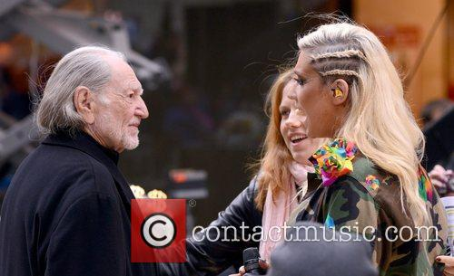 Willie Nelson, Ke, Toyota Thanksgiving Concert Series, Today, Rockefeller Center New York and City 6