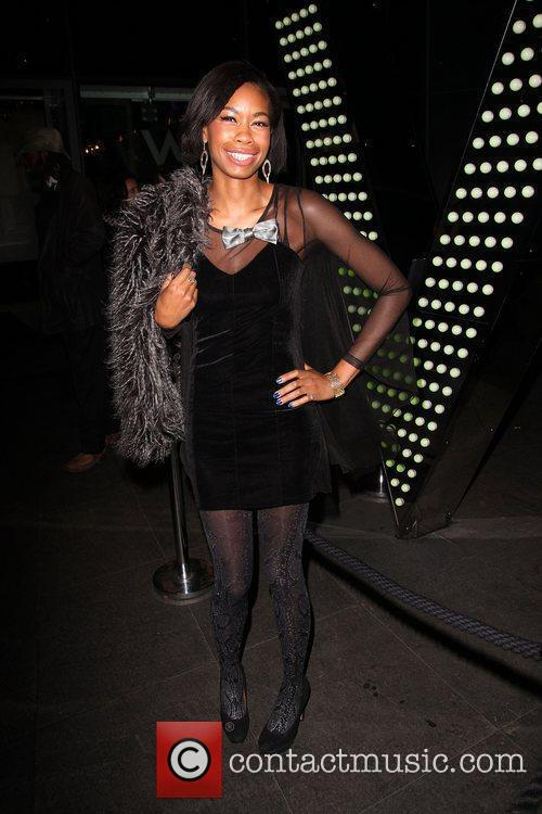 Tolula Adeyemi at W Hotel.