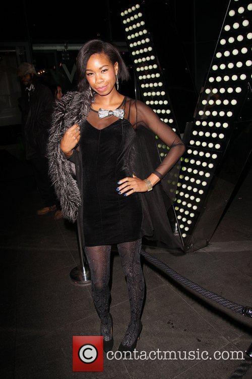 Tolula Adeyemi at W Hotel. London, England