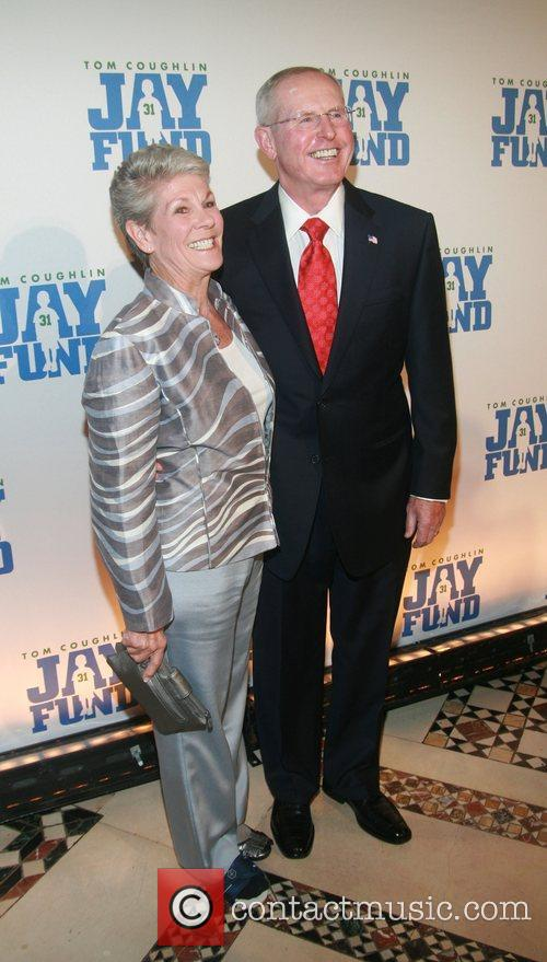 Judy andTom Coughlin  attends The Eighth Annual...