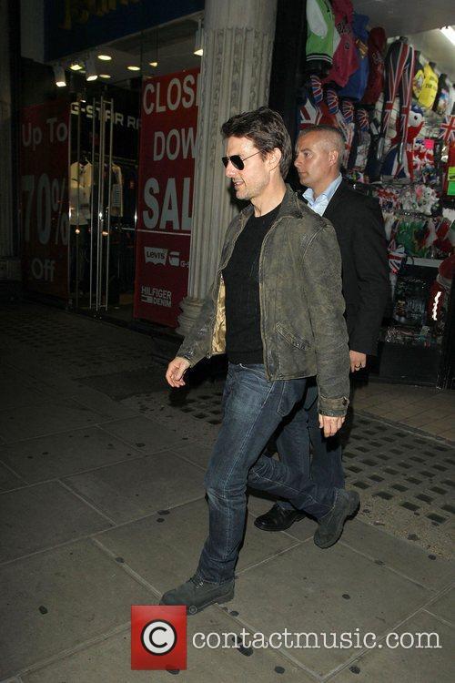 Tom Cruise, Connor Cruise and Chinawhite 15