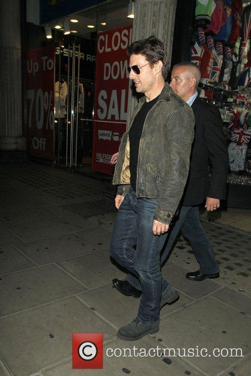Tom Cruise, Connor Cruise and Chinawhite 18