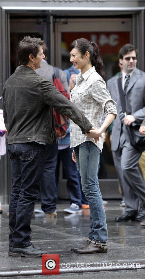 Tom Cruise and Olga Kurylenko 2