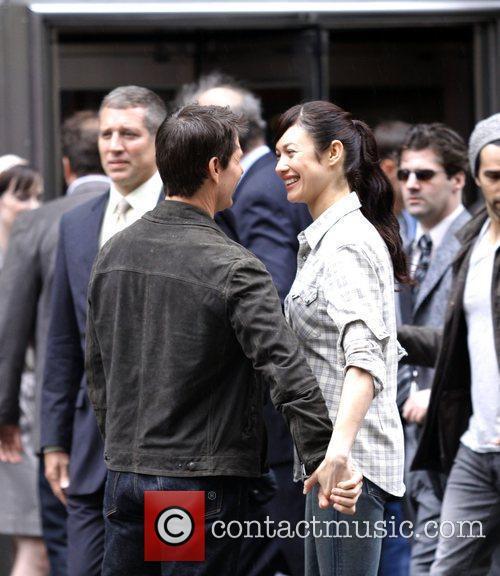 Tom Cruise and Olga Kurylenko 5