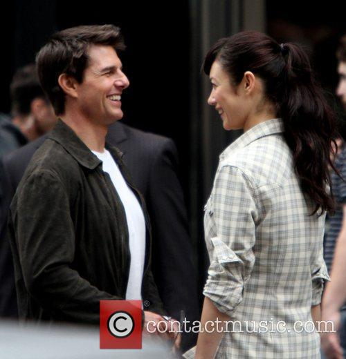 Tom Cruise and Olga Kurylenko 6
