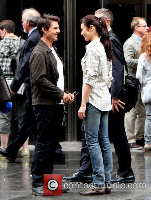 Tom Cruise and Olga Kurylenko 7