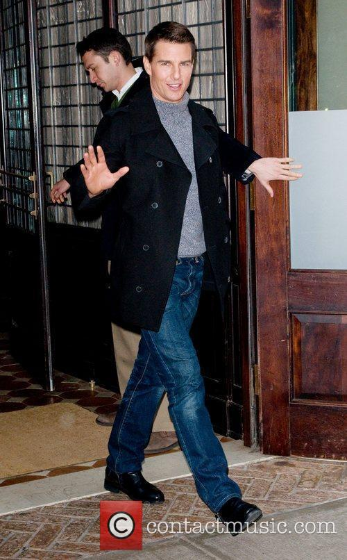 Leaving his Manhattan hotel and heads to 'The...
