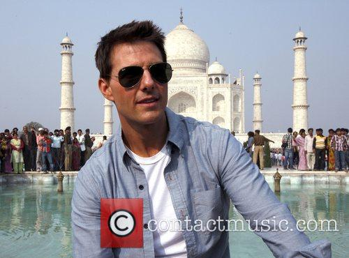 Tom Cruise and Taj Mahal