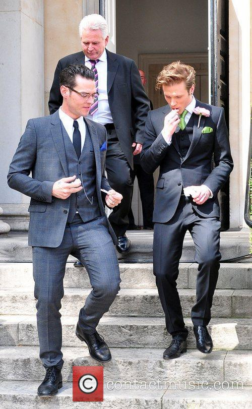 dougie poynter and guest the wedding of 3876130