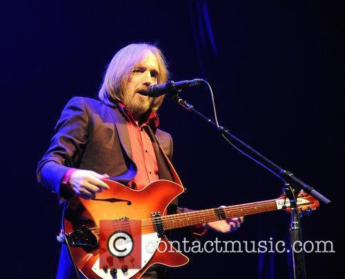 Tom Petty & the Heartbreakers performing at the...